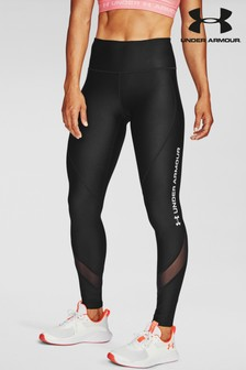 Under Armour Heat Gear Word Mark Leggings