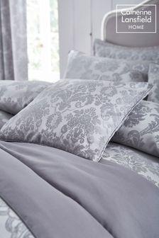 Damask Jacquard Cushion by Catherine Lansfield