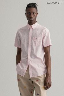 GANT Regular Broadcloth Gingham Shirt