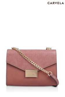 Carvela Pink Jero Shoulder Bag