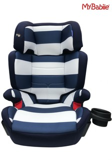 My Babiie Group 2 3 Blue Stripes Car Seat
