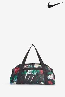 Nike Club Floral Gym Duffel Bag