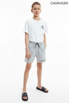 Calvin Klein Grey Core Lifestyle Shorts