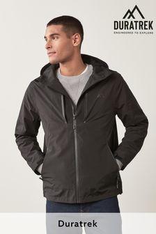 Black Waterproof Fleece Lined Anorak