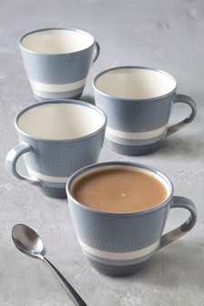 Set of 4 Harrison Mugs