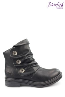 Blowfish Black Kay-Kay B Vegan Ankle Boots