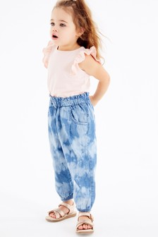 2 Tone  Tie Dye Denim Trousers (3mths-7yrs)