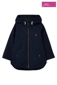 Joules Blue Shoreside Coastal Jacket