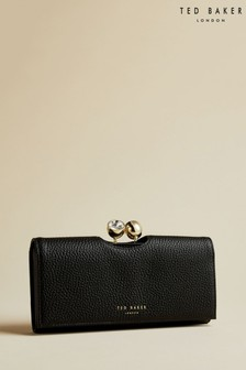 Ted Baker Black Solange Crystal Bobble Matinee Purse