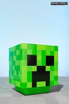 Black Minecraft Creeper Icon Light