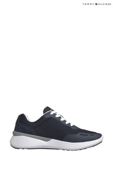Tommy Hilfiger Blue Lightweight TH Runner Trainers