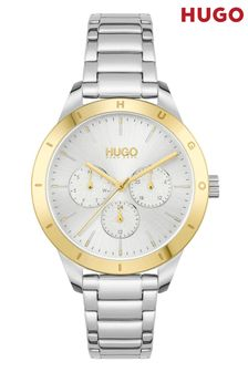 HUGO Friend Stainless Steel Bracelet Watch