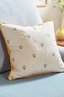 Bee Print Cushion