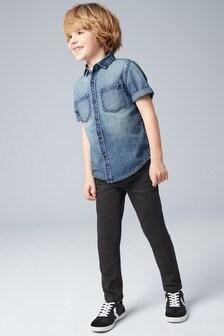0519d9bfe Boys Denim Shirts | Short & Long Sleeve Shirts | Next UK