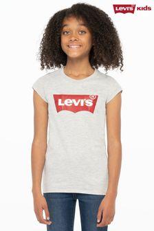 Levi's® Grey Logo Batwing T-Shirt