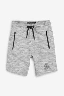 Grey Sporty Shorts (3-16yrs)