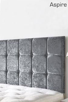 Silver Pennine Headboard by Aspire Furniture