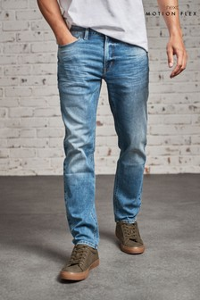 Blue Slim Fit Motion Flex Stretch Jeans