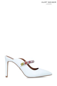 Kurt Geiger London White Duke Rainbow Shoes