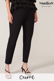 Studio 8 Black Juniper Smart Trousers