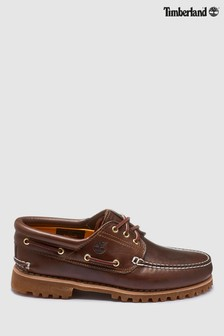 Timberland® Brown 3 Eyelet Classic Boat Shoe