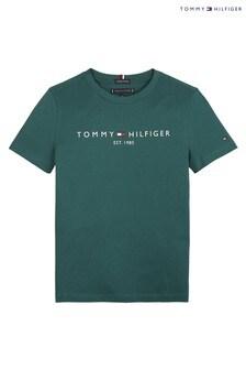 Tommy Hilfiger Green Essential T-Shirt