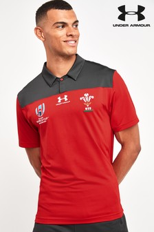 Under Armour Wales WRU Polo