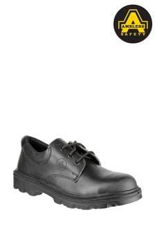 Amblers Safety Black FS133 Lace-Up Safety Shoes