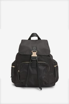 Black Technical Rucksack