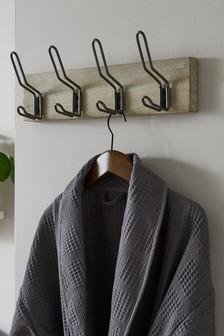 Wood And Metal Hooks