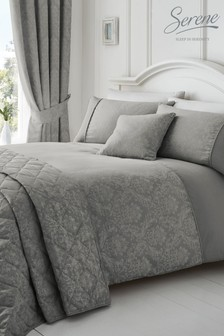 Laurent Duvet Cover and Pillowcase Set by Serene