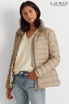 Lauren Ralph Lauren® Taupe Luxe Padded Jacket