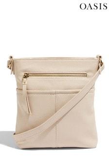Oasis White Cross Body Bag