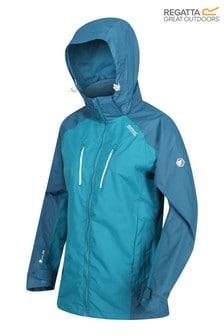 Regatta Blue Womens Calderdale III Waterproof Jacket