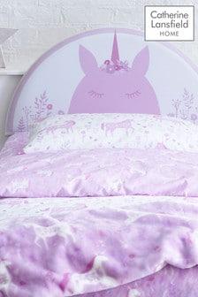 Unicorn Headboard By Catherine Lansfield
