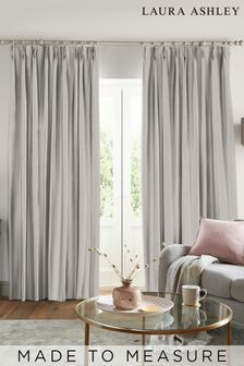 Laura Ashley Natural Swanson Made to Measure Curtains