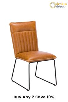 Tan Set Of 2 Cooper Chairs By Design Décor