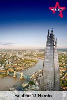 The View From The Shard And Afternoon Tea For Two Gift Experience by Activity Superstore