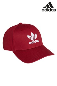 adidas Originals Burgundy Baseball Cap