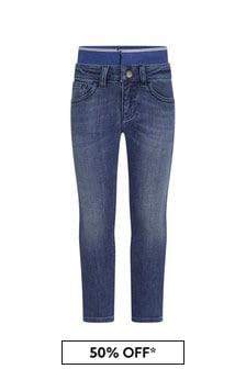 Emporio Armani Boys Blue Jeans