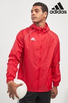 adidas Red Rain Jacket