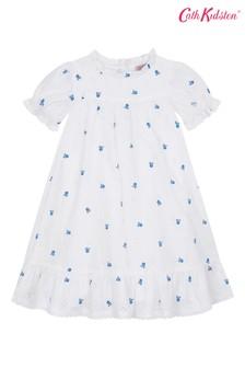 Cath Kidston® Scattered Mono Flower Emily Dress