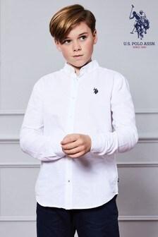U.S. Polo Assn. Long Sleeve Oxford Shirt