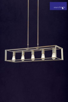 Harbour 5 Light Oblong Pendant by Searchlight