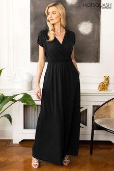 HotSquash Black Maxi Dress