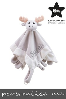 Personalised Moose Comforter by Sweden Concepts