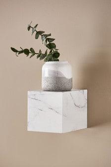 Marble Effect Cube Shelf