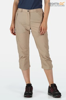 Regatta Cream Chaska ll Capri Trousers