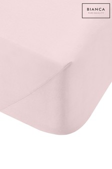 200 Thread Count Cotton Percale Extra Deep Fitted Sheet by Bianca
