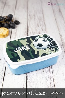 Personalised Football Sandwich Box by Loveabode